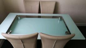 Heavy gloss table