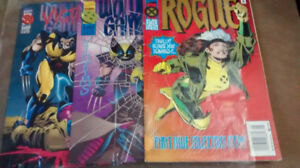 Marvel Comics ROGUE, & Wolverine-Gambit Victims - COLLECTOR ITEM