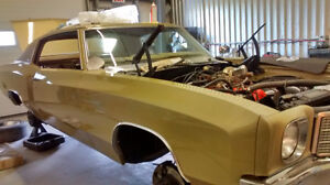 VERY RARE DOCUMENTED 1970 MONTE CARLO 402 B.B. 4 SPEED 12 BOLT