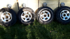 35 inch 12.5 Dick Cepec Mud Country Tires   $400 for all 4
