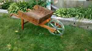 Antique wheelbarrow  West Island Greater Montréal image 1