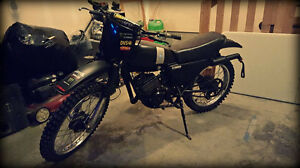 1981 Yamaha MX175 two stroke