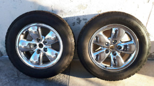 """20"""" Dodge Ram Wheels and Tires"""