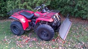 snow plow great deals on used and new cars vehicles in atv yamaha big bear 350 4x4 54 warn plow