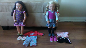 """Two """"Our Generation"""" Dolls"""