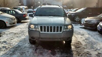 2004 Jeep Grand Cherokee 2x4 et 4x4;tps et 12 mois garantie incl