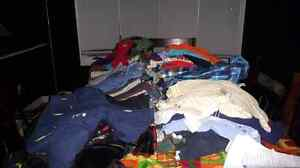 Tons and tons of Baby boy clothes 0-12 months Kitchener / Waterloo Kitchener Area image 1