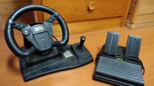 PS1/PS2/N64 Steering Wheel set