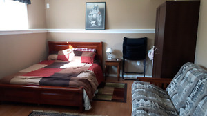 Large furnished room for rent in basement $530
