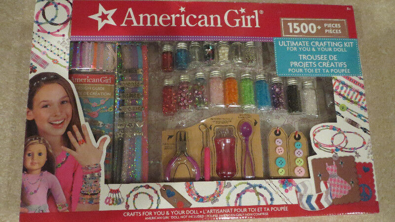 New American Girl Ultimate Crafting Kit Toys Games Calgary