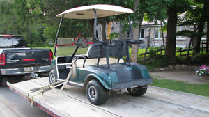 Used Club Car DS Gas Golf Carts, Golf Cars Available
