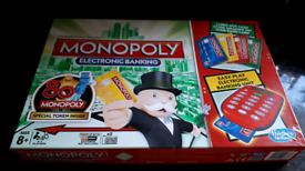 NEW! Monopoly Electronic Banking 80th Anniversary Token