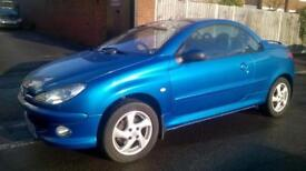 Peugeot 206 1.6 16v ( a/c ) 2004MY Coupe Cabriolet S