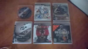 PlayStation 3 games and controller