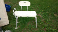 Tub/bath transfer Chair/Shower Chair for safety w/handle