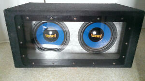 "Band-pass Sub Box...Dual-Voicecoil 10"" Subs"