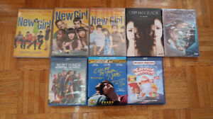 DVD / Blu-ray (Justice League, New Girl, Orphan Black, etc)