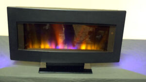 "ClassicFlame 34HF600GRA 34"" Wall Mounted Fireplace SEE VIDEO"