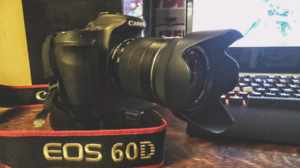 Canon 60d with stuff