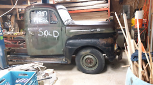 1951 half ton  ford mercury project truck read whole ad