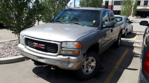 2001 GMC Sierra 4x4 Trade for Iphones