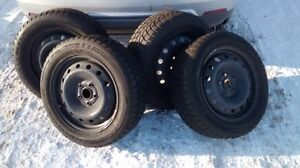 winter claw tires on rims for sale