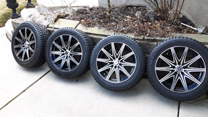 Size 16 Rims with Winter Tires OUIXI