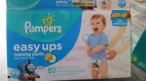 35 couches pampers easy ups