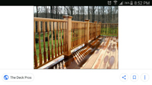 """Several Brand New - 36"""" Deck Spindles"""