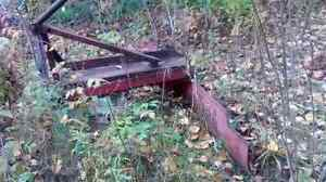 7 foot 3 point hitch blade