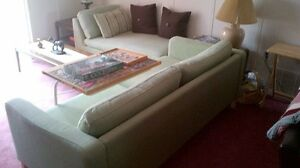 sofa and adjustable lounge