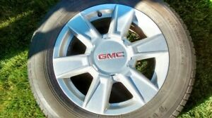Set of 4 GMC Terrain Tires & Rims