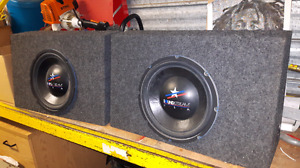 "TWO 12"" SUBS FOR SALE"