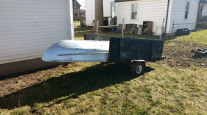 """12"""" boat and motor for sale with gas tank  no """"boat trailer"""""""