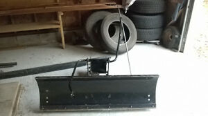 "48"" Berco Lawn tractor blade & subframe"
