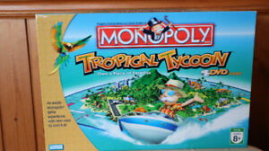 MONOPOLY – TROPICAL TYCOON WITH DVD GAME