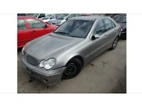 BREAKING MERCEDES C CLASS C220 CDI FACELIFT w203 2005