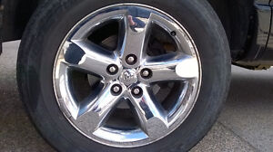 "20"" Chrome RIMS Dodge 1500"