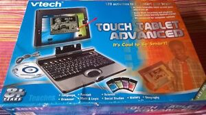 vtech touch tablet advanced for age 8+