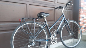 Comfortable Women's, 21 Speed,Hybrid Bicycle