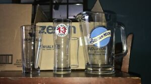 Beer Glasses and one pitcher never used