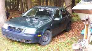 99 jetta parts car runs needs work out of province