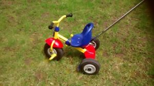 KETTLER tricycle with inflatable wheels (whisper wheels)