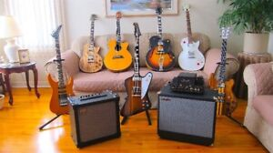 AMPS & GUITARS FOR SALE