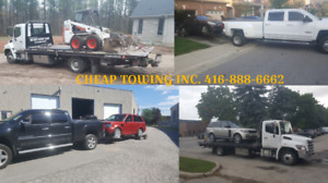 CHEAP TOWING MISSISSAUGA FLAT BED TOW TRUCK BOOST LOCKOUT SCRAP