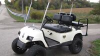 "2005 Yamaha Golf Cart ""GAS POWERED"" with LIFT KIT"