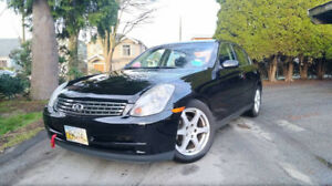 2003 Infiniti G35 AUTO w/ CARPROOF - CLEAN - ZERO ISSUES!!!