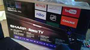 50 inch sharp roku tv