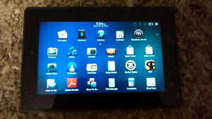 Blackberry playbook 32 GB with leather cover