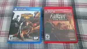 Infamous Second Son et Fallout New Vegas Ultimate Edition
